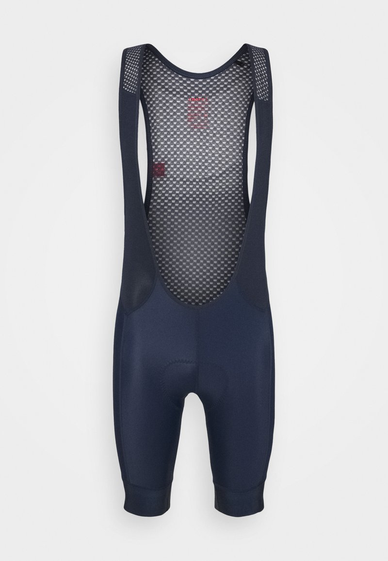 Craft - ENDUR BIB SHORTS  - Tights - blaze/bright red