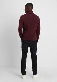 TOM TAILOR - BASIC STAND-UP - Mikina na zip - gipsy purple - 2