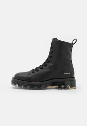 CPH1002  - Platform ankle boots - black/clear