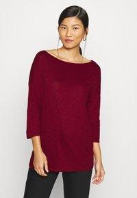 Sisley - Long sleeved top - dark red - 0