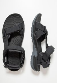 Jack Wolfskin - LAKEWOOD RIDE - Walking sandals - ebony - 1