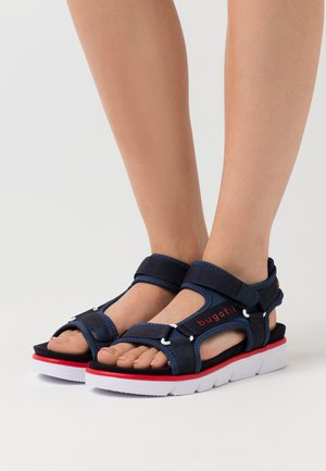 KIKO - Trekkingsandaler - dark blue/red