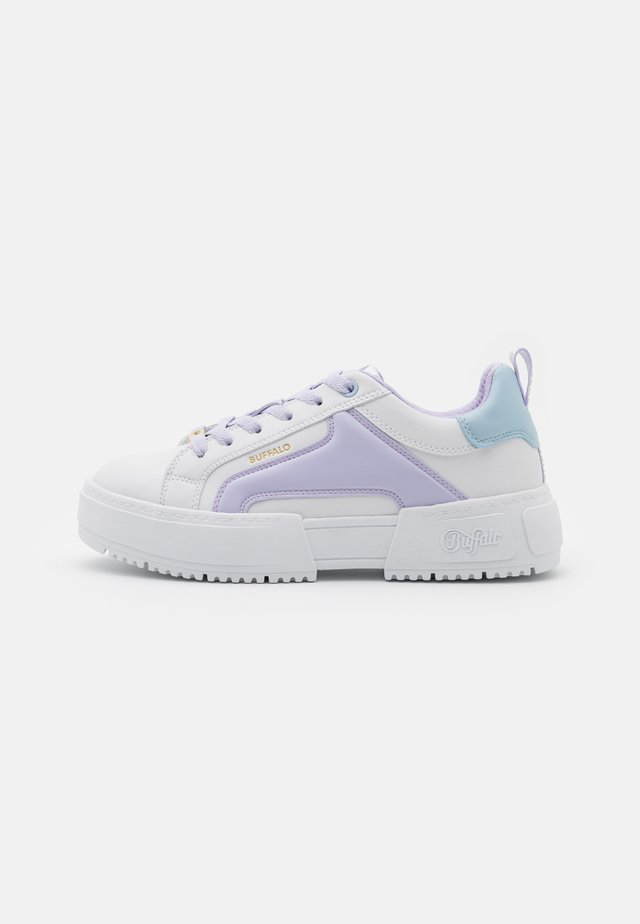 Sneakers laag - white/purple