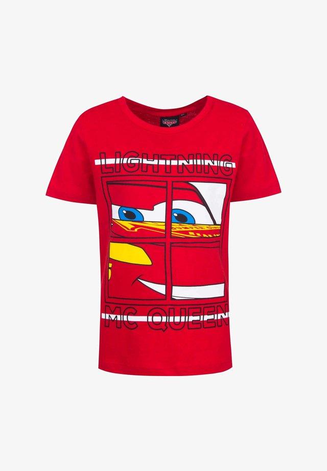 DISNEY CARS - Print T-shirt - rot