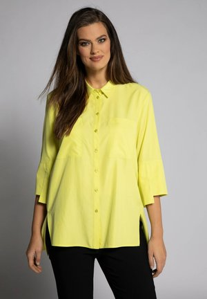 Button-down blouse - vert jaune