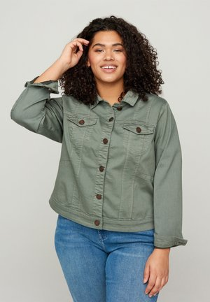 Denim jacket - green