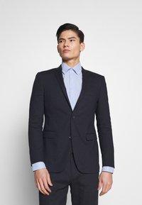 Esprit Collection - MATTE MIX - Oblek - dark blue - 2
