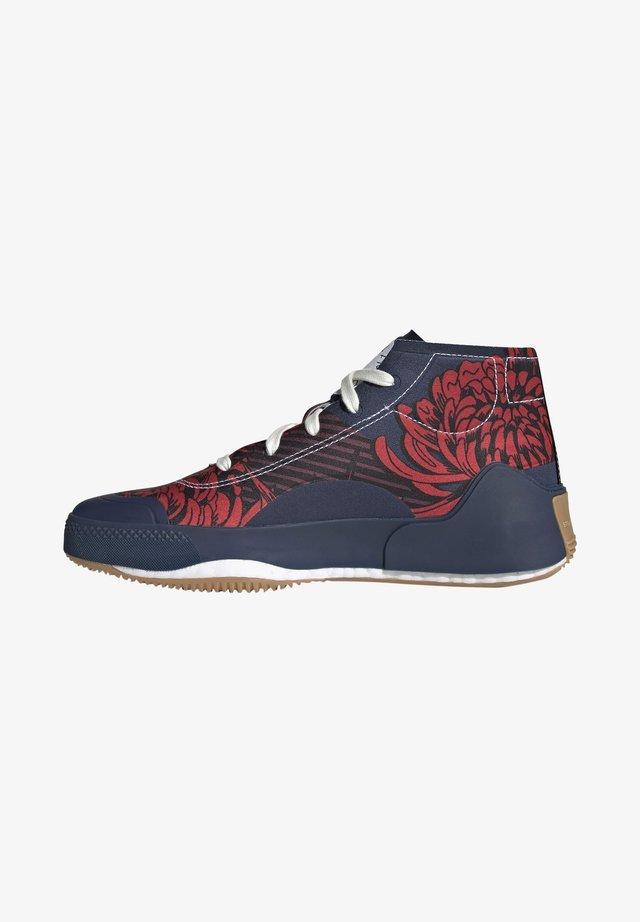 ADIDAS BY STELLA MCCARTNEY TREINO MID-CUT PRINT SHOES - Sneakersy wysokie - blue