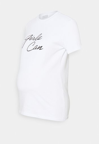 PCMKID TEE - Print T-shirt - bright white