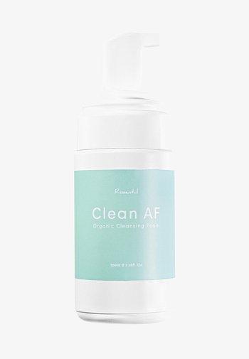 CLEAN AF ORGANIC CLEANSING FOAM