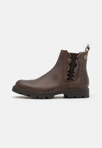 RIDGACRE CHELSEA BOOT - Cowboy/biker ankle boot - brown