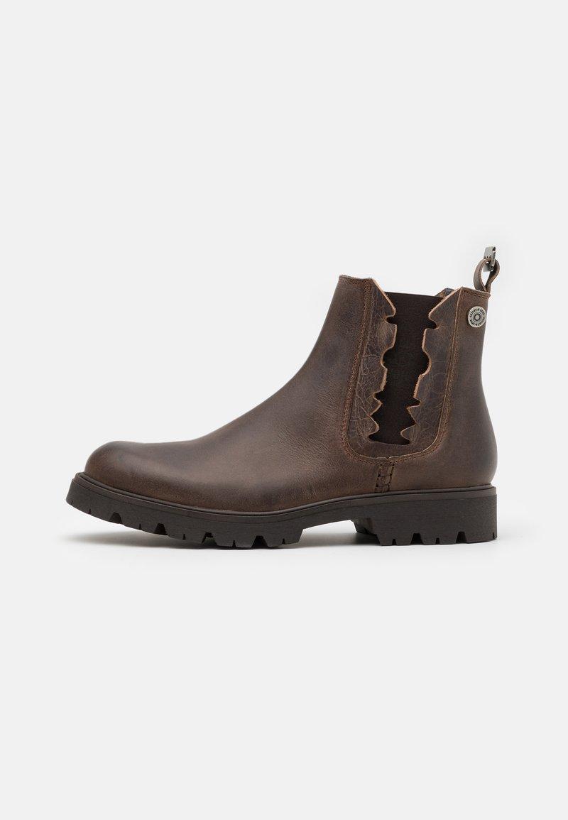 Shelby & Sons - RIDGACRE CHELSEA BOOT - Kovbojské/motorkářské boty - brown