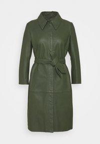 Ibana - ROSE - Shirt dress - dark green - 0