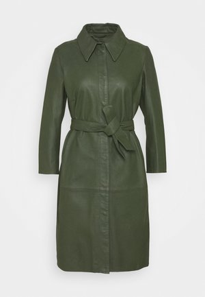 ROSE - Skjortklänning - dark green