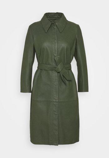 ROSE - Shirt dress - dark green