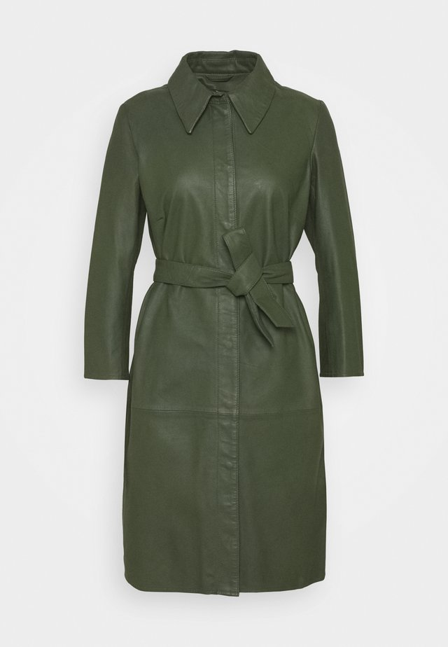 ROSE - Shirt dress - dark green