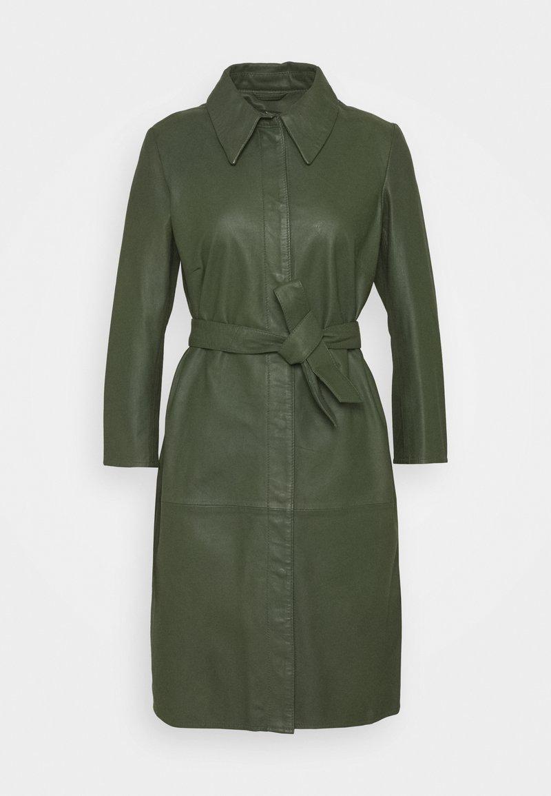 Ibana - ROSE - Shirt dress - dark green