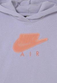 Nike Sportswear - AIR CROP HOODIE  - Hoodie - purple chalk - 2