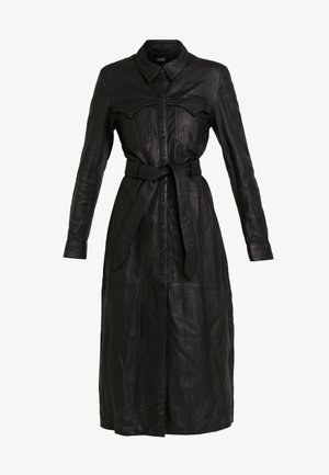 ELIZABETH - Shirt dress - black