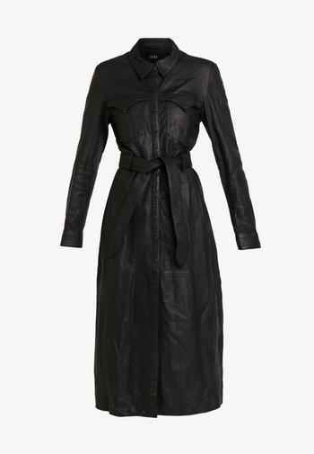 ELIZABETH - Shirt dress - black