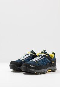 CMP - KIDS RIGEL LOW SHOE WP UNISEX - Hiking shoes - river - 3