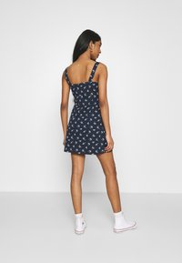 Hollister Co. - BARE DRESS - Jerseykjole - navy - 2