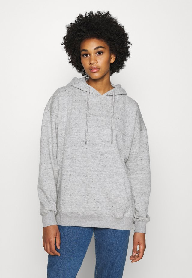 DAD MAXI PEACHED HOODIE - Huppari - grey