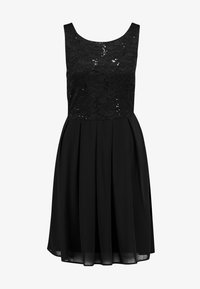 Vila - VIGINA DRESS - Cocktailkjole - black - 4