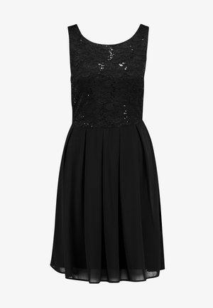 VIGINA DRESS - Cocktailkjoler / festkjoler - black