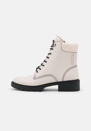 LORIMER BOOTIE - Lace-up ankle boots - chalk