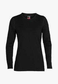 Icebreaker - Long sleeved top - black - 0