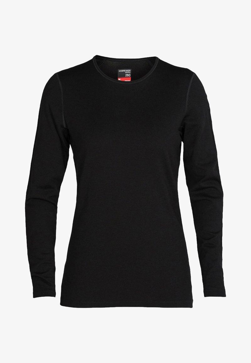 Icebreaker - Long sleeved top - black