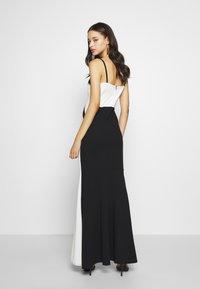 WAL G. - DETAIL DRESS - Vestido de fiesta - black/white - 3