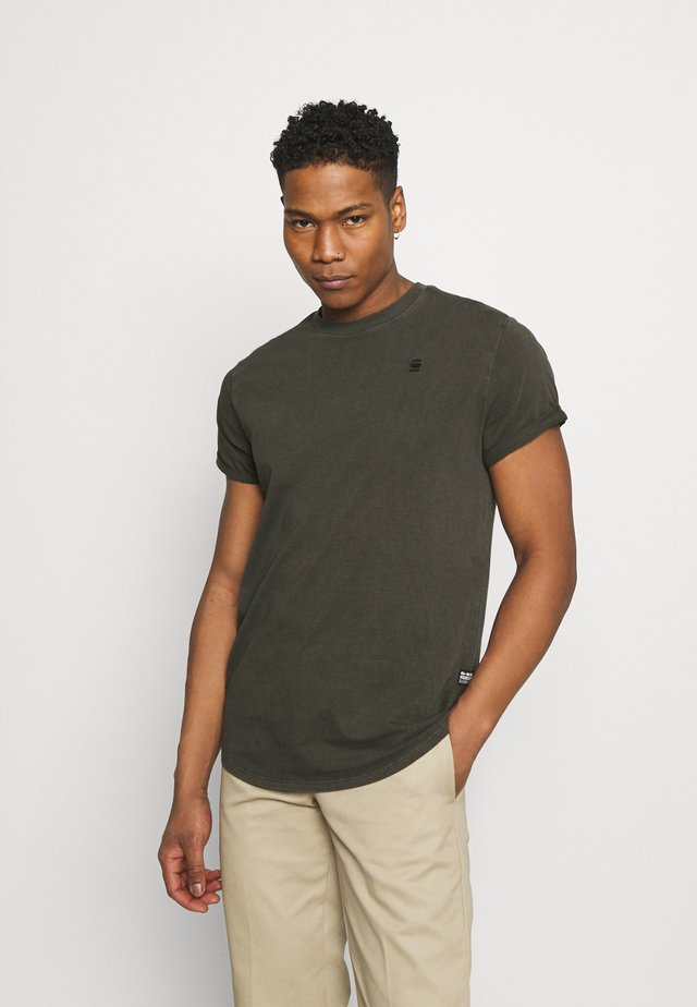 LASH - Basic T-shirt - carbid
