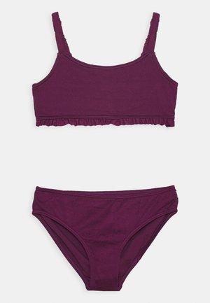 SCRUNCH SCOOP NECK - Bikini - purple potion