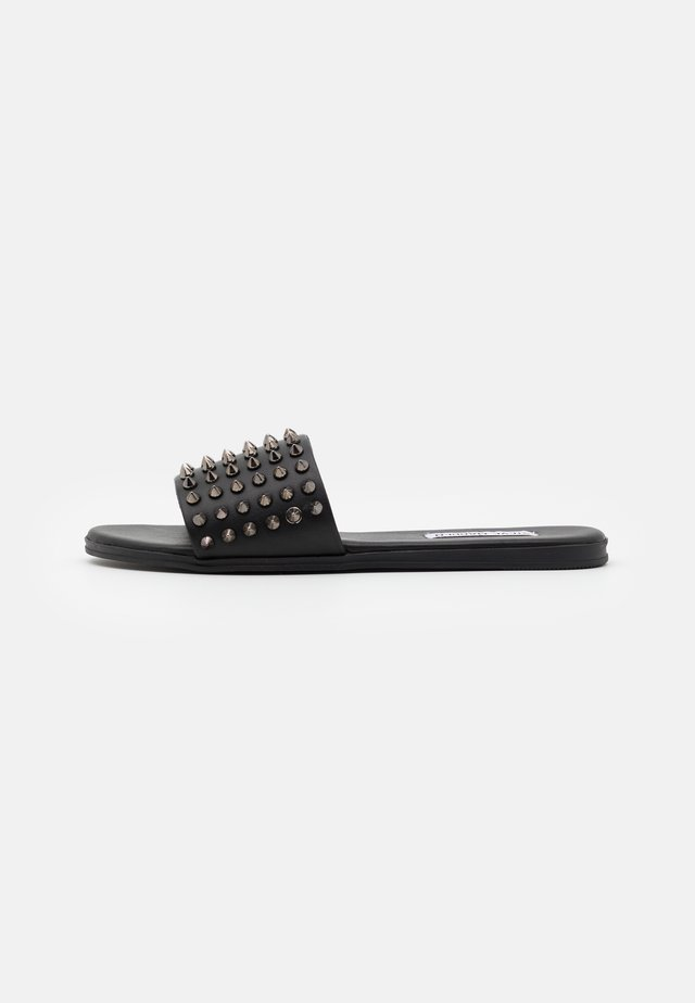 FARRYN SLIDE - Pantofle - black