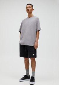PULL&BEAR - T-shirt basic - beige - 1
