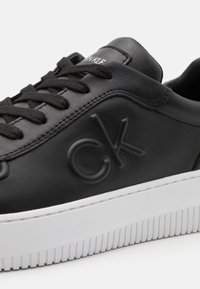 Calvin Klein Jeans - CHUNKY SOLELACEUP OXFORD - Trainers - black - 5