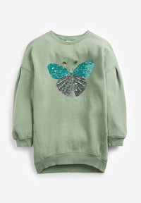Next - LONGLINE  - Sweatshirt - green - 1