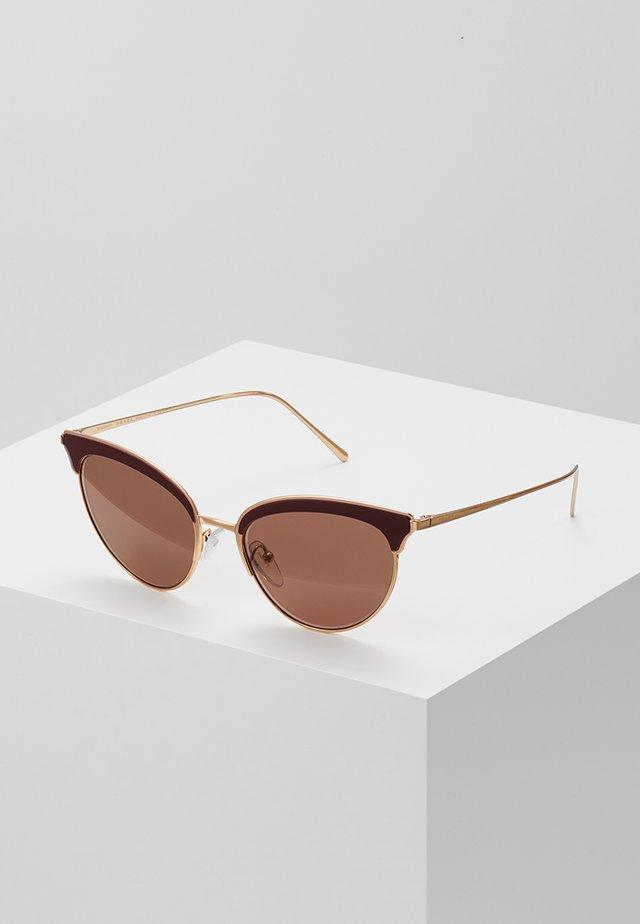 Sunglasses - rose gold/bordeaux