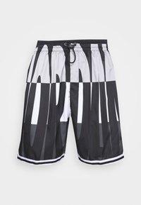 Jordan - WINGS  POOLSIDE - Shorts - white/black/dark smoke grey - 3