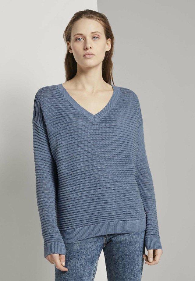 Maglione - soft mid blue