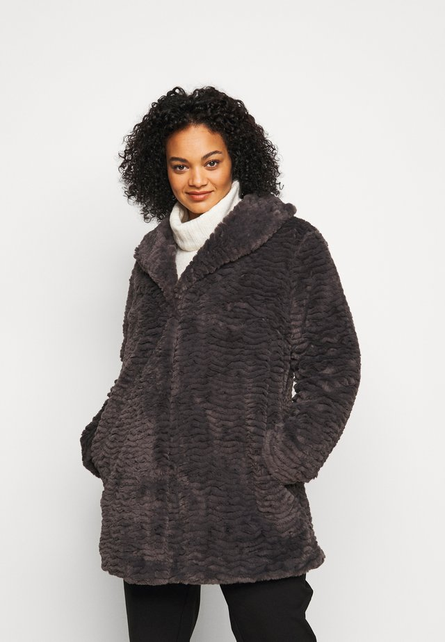 LONG LINE COAT - Cappotto invernale - grey