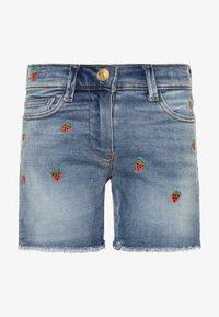 J.CREW - STRAWBERRY - Denim shorts - picnic wash - 0