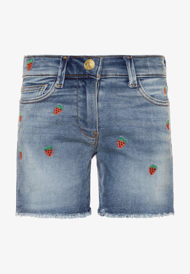 STRAWBERRY - Shorts vaqueros - picnic wash