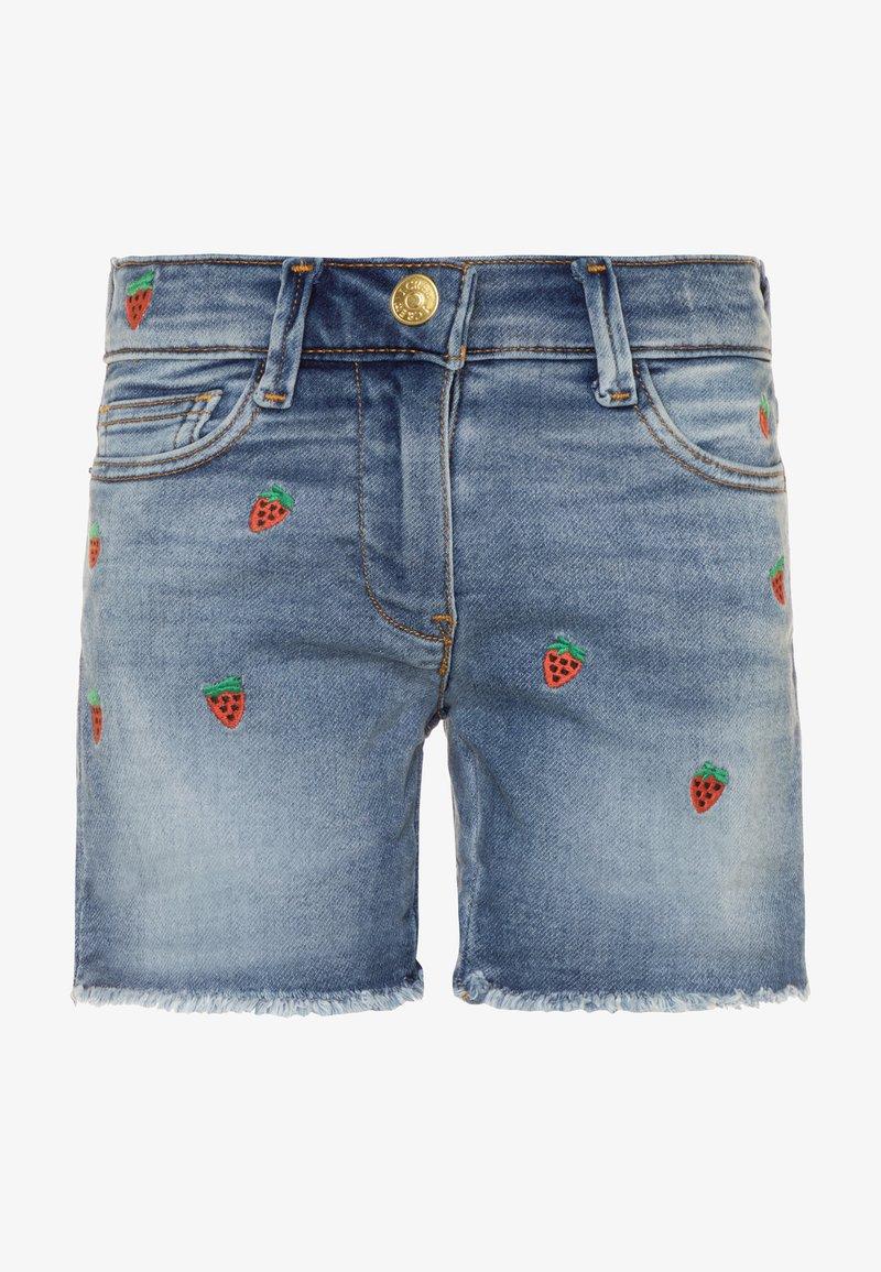 J.CREW - STRAWBERRY - Denim shorts - picnic wash