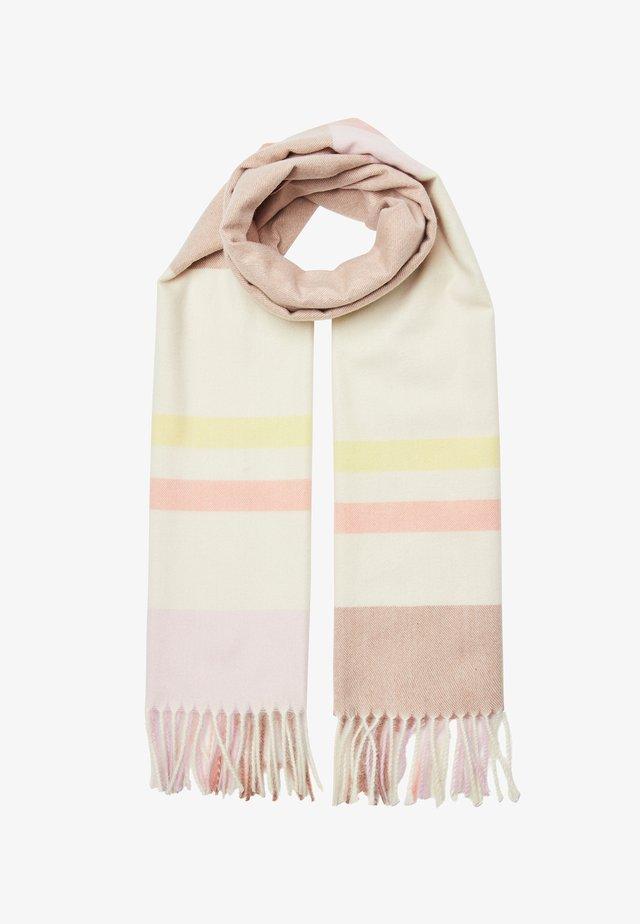 PRETTY PASTEL CHECKED - Bufanda - pink