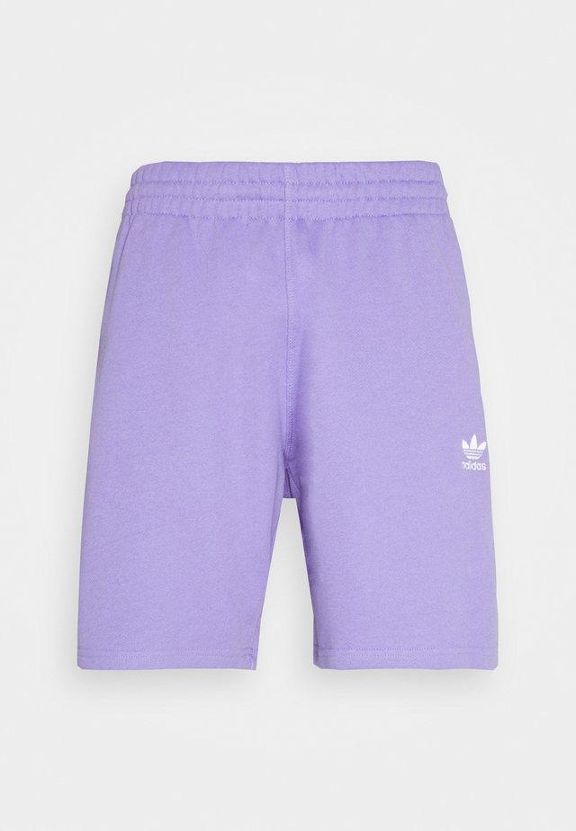 ESSENTIAL UNISEX - Shorts - light purple