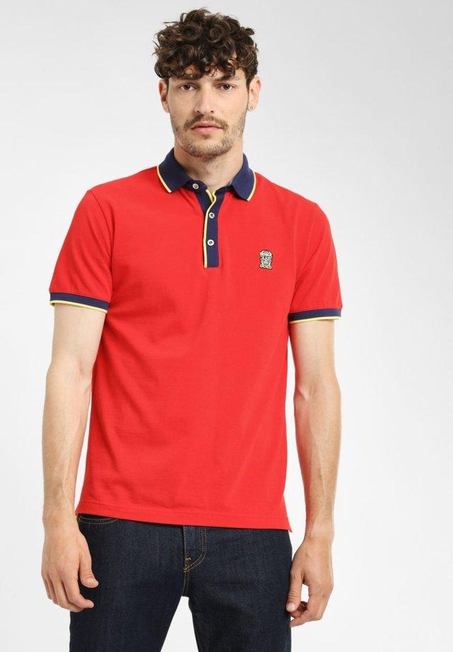 CONTRASTO - Poloshirt - red