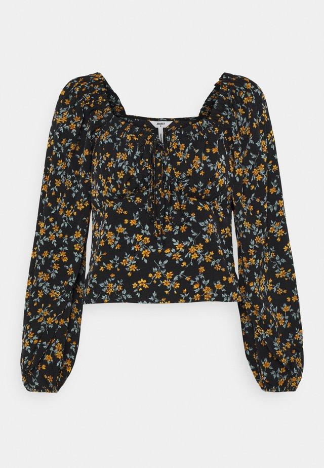 OBJNINA - Långärmad tröja - black